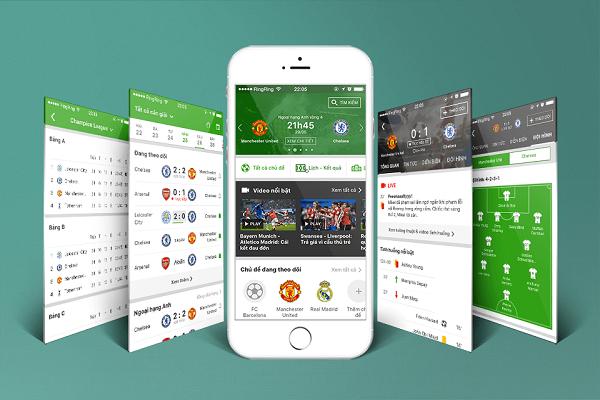 Ứng dụng xem chung kết C1 trên smartphone: Liverpool vs Real Madrid
