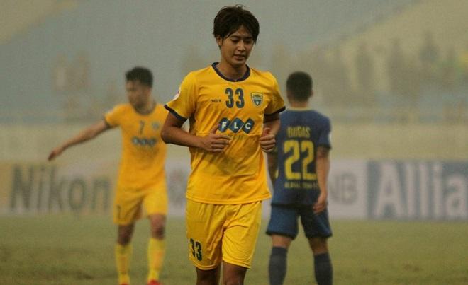FLC Thanh Hóa không đăng ký ngoại binh người Nhật Bản đá Cúp QG 2018