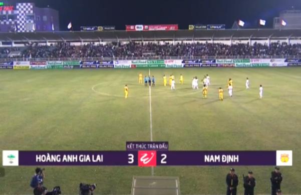 Kết quả HAGL vs Nam Định (FT 3-2): Phố Núi mở hội
