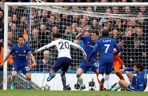 Kết quả bóng đá hôm nay 02/04: Chelsea 1-3 Tottenham