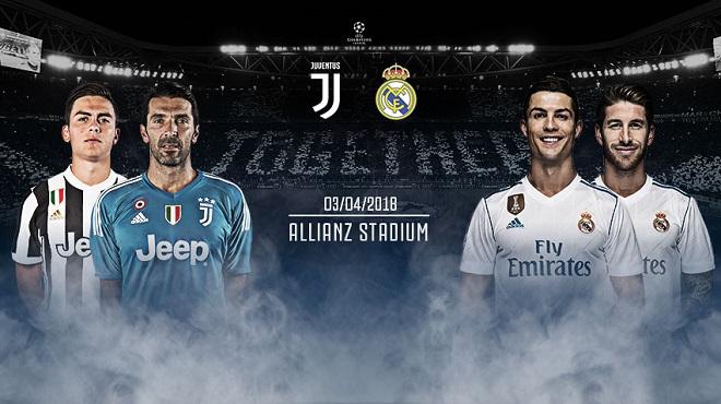Dự đoán Juventus vs Real Madrid, 1h45 ngày 4/4 (Tứ kết lượt đi Champions League)