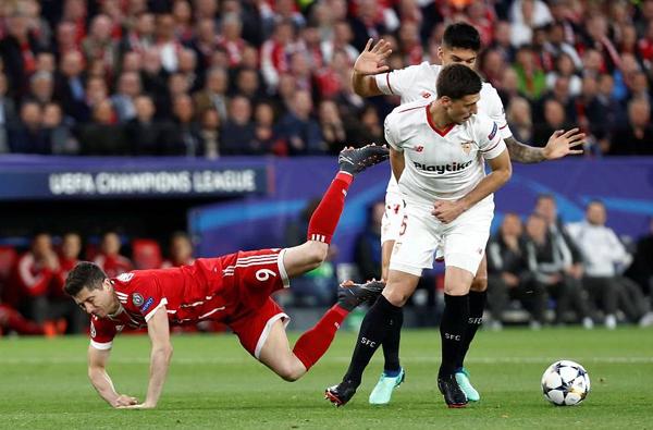 Kết quả Sevilla 1-2 Bayern Munich: Bayern sáng cửa vượt qua tứ kết C1