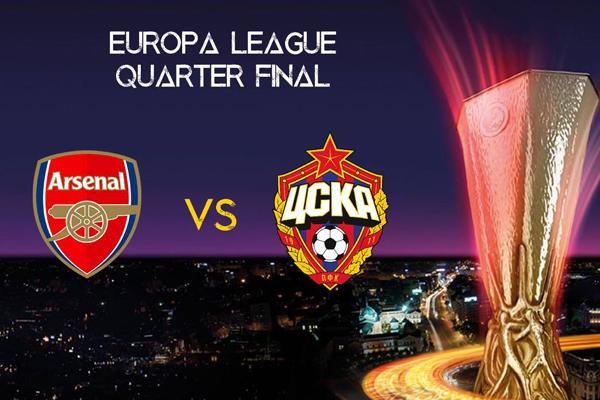 Xem trực tiếp Arsenal vs CSKA Moscow, 02h05 ngày 06/04 trên kênh nào?