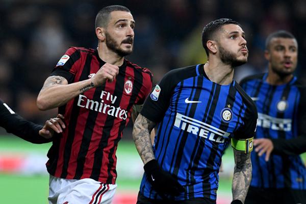Kết quả bóng đá AC Milan 0-0 Inter Milan, đá bù vòng 27 Serie A