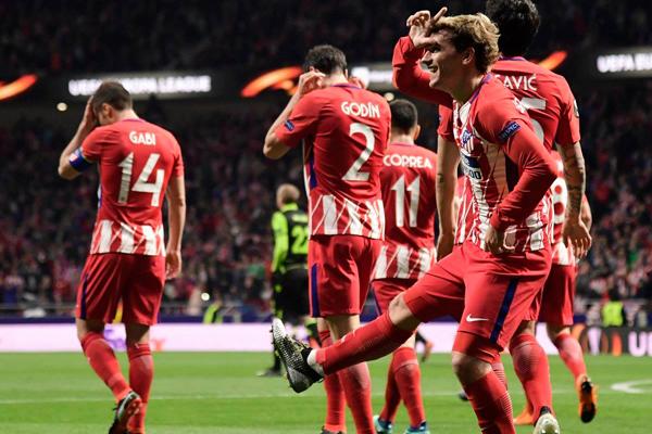 Kết quả bóng đá Cúp C2 châu Âu (Europa League) hôm nay 06/04: Atletico Madrid 2-0 Sporting Lisbon