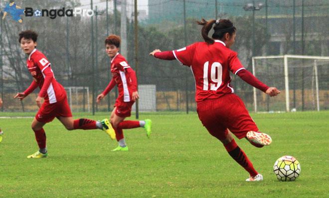 Thầy trò Mai Đức Chung thua đậm trận ra quân Asian Cup nữ 2018