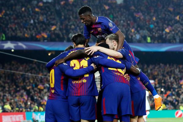 Xem trực tiếp Roma vs Barca (01h45 ngày 11/4) trên kênh nào?
