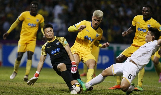 Thủ môn Tiến Dũng dự bị, FLC Thanh Hóa chính thức chia tay AFC Cup 2018