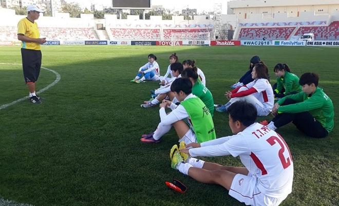 Lịch thi đấu Nữ Việt Nam vs Hàn Quốc ở ASIAN Cup 2018