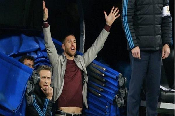 """Sergio Ramos có thể trả giá vì """"vui quá"""" ở tứ kết lượt về Champions League"""