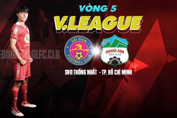 Lịch thi đấu và trực tiếp bóng đá V.League 2018 hôm nay 14/4: Sài Gòn FC vs HAGL