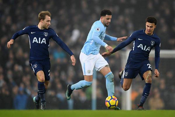 Lịch thi đấu vòng 34 Ngoại hạng Anh/Premier League: Tâm điểm Tottenham vs Man City