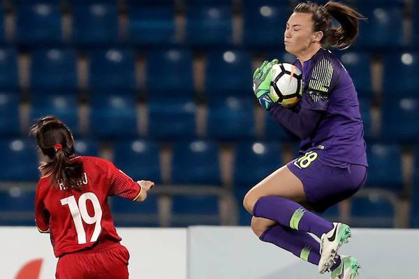 Video bàn thắng Nữ Việt Nam vs Nữ Hàn Quốc (FT 0-4), Bảng B - VCK Asian Cup nữ 2018