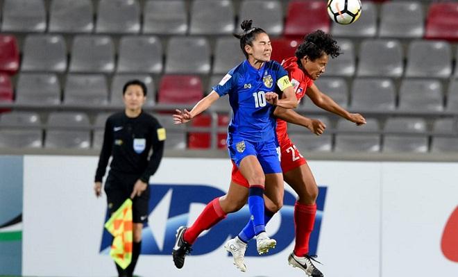 Kết quả Asian Cup nữ 2018: Nữ Thái Lan chính thức giành vé dự World Cup nữ 2019