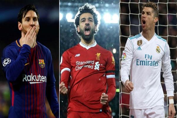 Vượt Messi, Ronaldo ghi bàn nhiều nhất mùa giải 2017/18