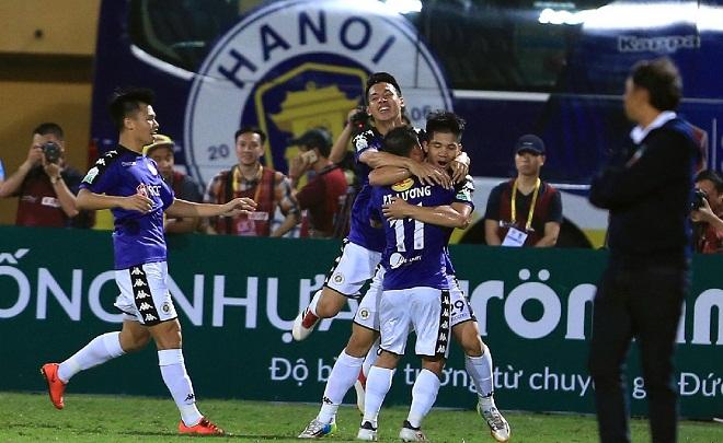 Kết quả, bảng xếp hạng vòng 5 V-League 2018 ngày 14/4: Hà Nội FC vùi dập SHB Đà Nẵng