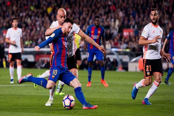 Lịch thi đấu bóng đá La Liga hôm nay 14/4: Barcelona vs Valencia