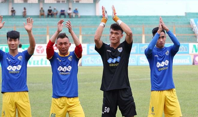 Kết quả vòng 5 V-League 2018 ngày 15/4: Hải Phòng 0-2 Quảng Nam, FLC Thanh Hóa, SLNA đều bị chia điểm