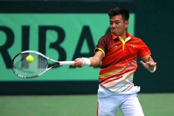 Bảng xếp hạng tennis thế giới ATP mới nhất của Lý Hoàng Nam