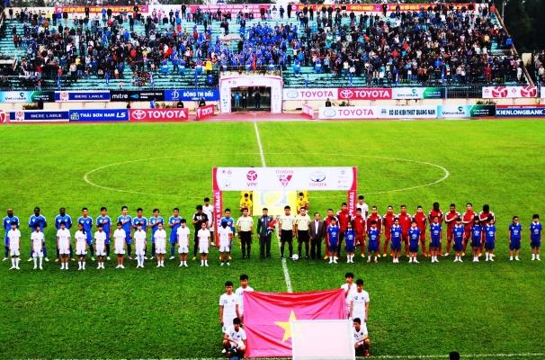Giá vé sân Tam Kỳ xem Quảng Nam đá V.League 2018