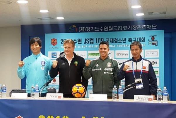 Thể thức thi đấu giải Tứ hùng Suwon JS Cup 2018 ở Hàn Quốc của U19 Việt Nam