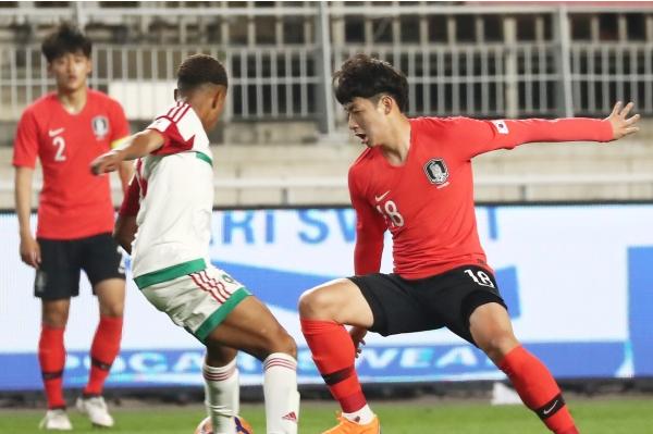 Kết quả U19 Hàn Quốc 1-4 U19 Mexico, Cúp Tứ hùng Hàn Quốc