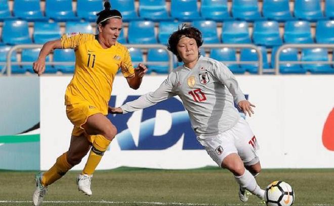 Kết quả Nữ Nhật Bản vs Nữ Australia (chung kết Asian Cup 2018)