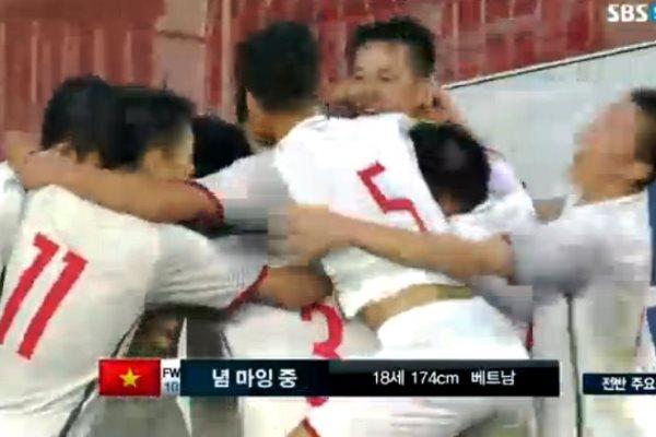 Kết quả U19 Việt Nam vs U19 Hàn Quốc (FT 1-1): Hơn cả mong đợi