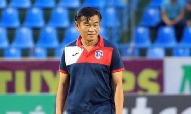 HLV Than Quảng Ninh phản ứng lạ về án phạt đối của VFF với Hải Huy