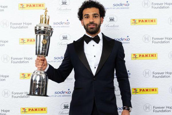 Đánh bại Kevin Bruyne, Salah giành giải Cầu thủ xuất sắc nhất Ngoại hạng Anh mùa 2017/18