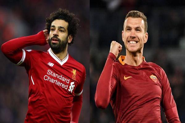 Liverpool vs AS Roma: Salah đọ sức Dzeko