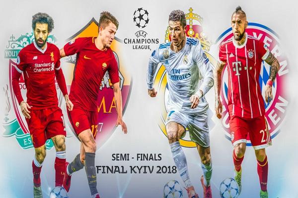 Nhận định, dự đoán bán kết cúp C1 châu Âu: Kiev gọi tên ai?