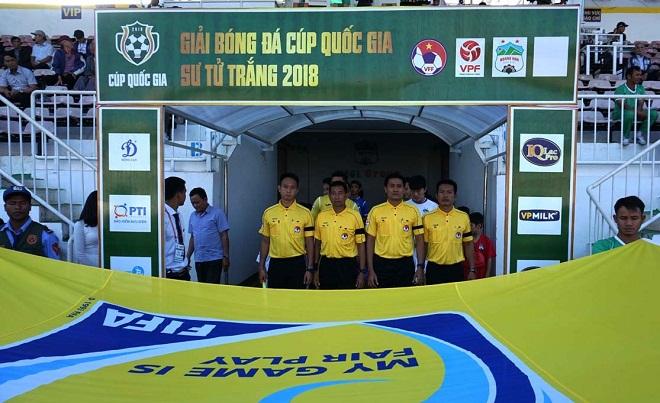Lịch phát sóng trực tiếp vòng 1/8 Cúp Quốc gia 2018: Quảng Nam vs HAGL