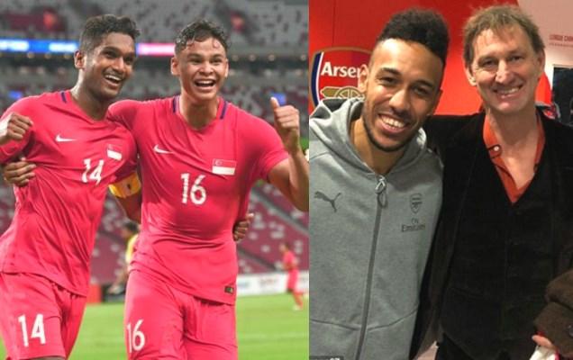Nhắm huyền thoại Arsenal làm HLV trưởng, Singapore quyết vô địch AFF Cup 2018