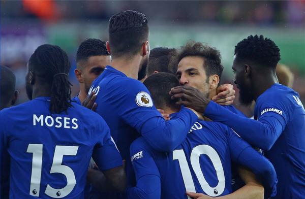 Kết quả bóng đá Ngoại hạng Anh hôm nay (29/4): Swansea City 0-1 Chelsea