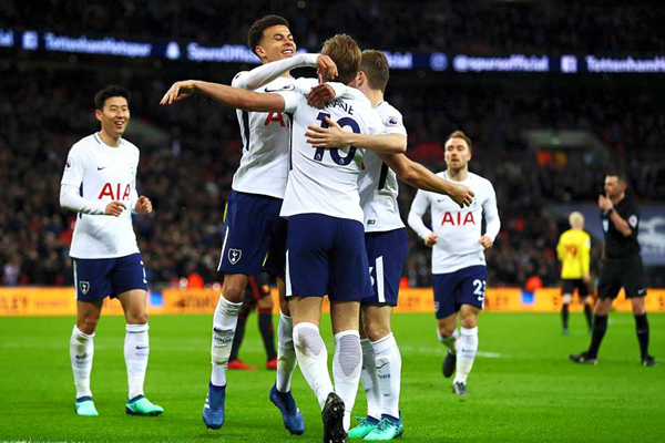 Kết quả bóng đá Ngoại hạng Anh hôm nay (1/5): Tottenham 2-0 Watford