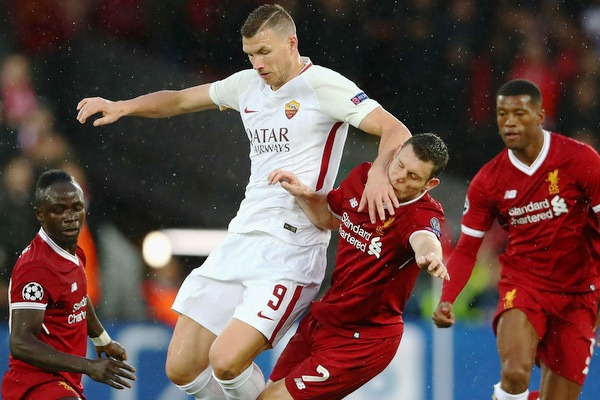 Thông tin đối đầu AS Roma vs Liverpool