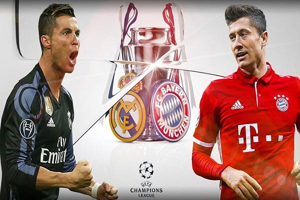 Xem video bàn thắng Real Madrid vs Bayern Munich ở đâu?