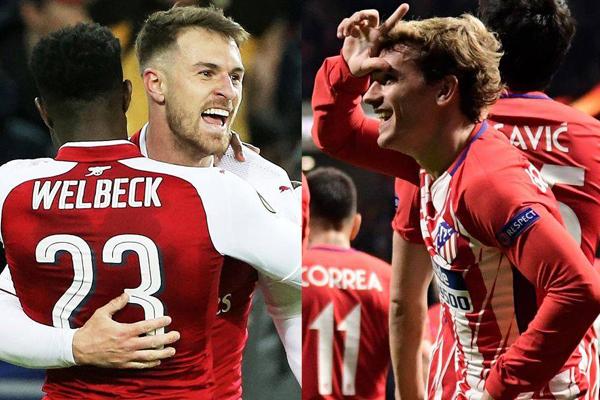 Xem trực tiếp Atletico Madrid vs Arsenal (02h05 ngày 4/5) trên kênh nào?