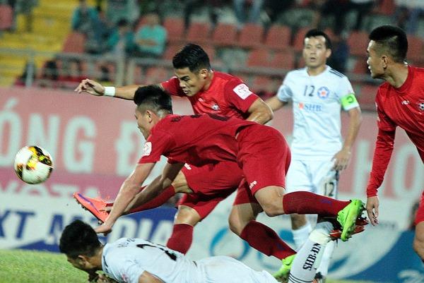 Lịch phát sóng V-League 2018 hôm nay (5/5): Hải Phòng vs Đà Nẵng