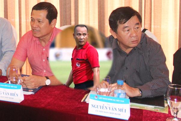 NÓNG: Ông Nguyễn Văn Mùi bị thôi chức Trưởng ban trọng tài VFF