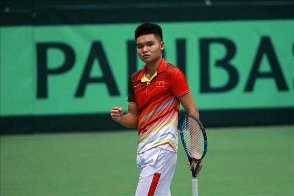 Trực tiếp Vietnam F2 Futures 2018 hôm nay (9/5): Hoàng Nam gặp tay vợt Nhật Bản