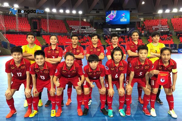 Lịch thi đấu Futsal nữ châu Á hôm nay (12/5): Việt Nam vs Thái Lan