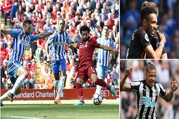 Bảng xếp hạng chung cuộc Ngoại hạng Anh 2017/18: Liverpool yên vị Top 4, Swansea xuống hạng
