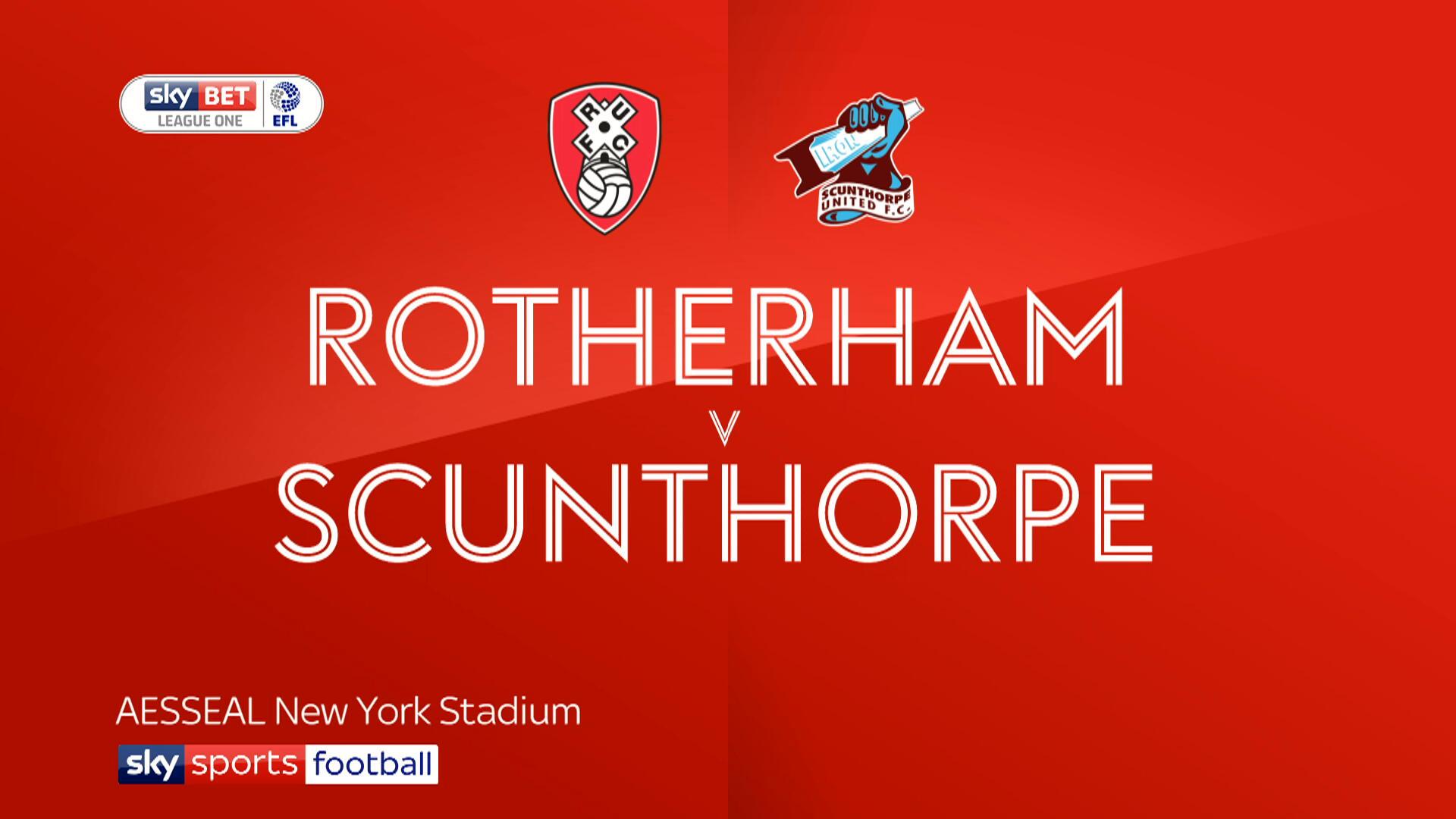 Nhận định bóng đá Rotherham vs Scunthorpe, 01h45 ngày 17/5
