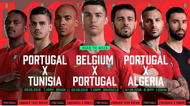 Danh sách dự World Cup 2018 của ĐT Bồ Đào Nha: Vắng mặt thần đồng Sanches