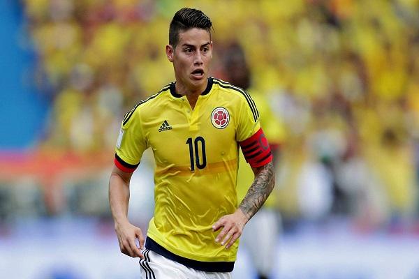 Danh sách sơ bộ đội tuyển Colombia tham dự World Cup 2018