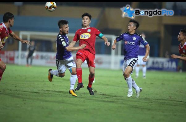 Kết quả lượt về tứ kết Cúp Quốc gia 2018 hôm nay (15/5): Hà Nội FC vs HAGL (FT 1-1)