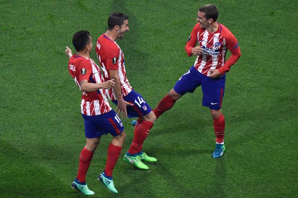 Xem lại Video bàn thắng Marseille vs Atletico Madrid: Người hùng Griezmann