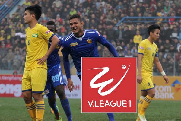 Lịch phát sóng vòng 8 V.League 2018: Quảng Nam vs SLNA